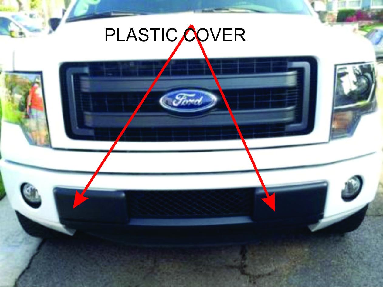 Front Bumper Insert Cap