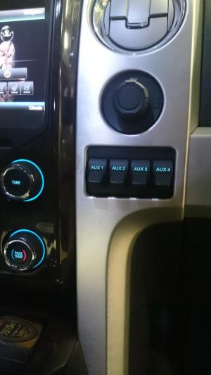 2016 Ford F 150 Accessory Switches Stainless Steel Accessories For Ford F150 2015 2016 Headlight