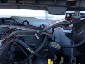 07 f150 xl Evaporative Hose Identification needed with two CE Light w code  Ford F150 Forum