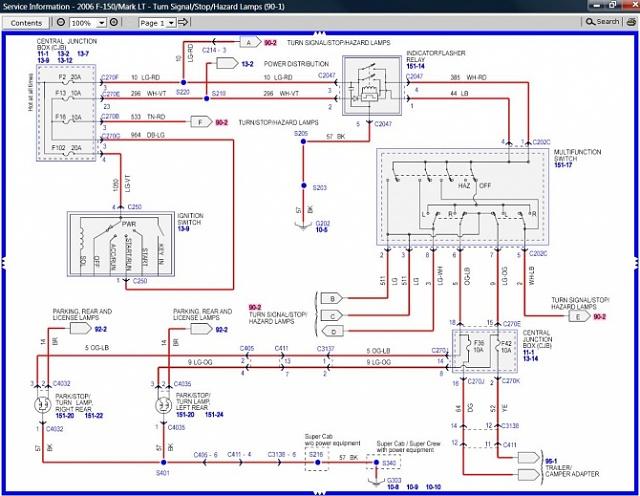 2006 ford f350 super duty wiring diagram  center wiring