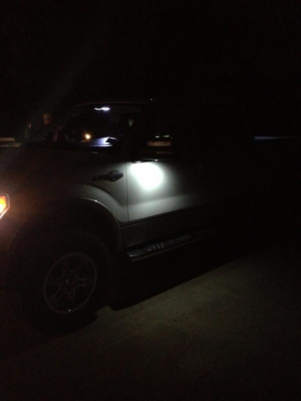 Ford Led Puddle Lights