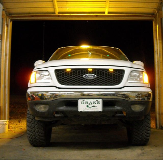 Raptor Style LED Grille Lights Install Pics Page 12