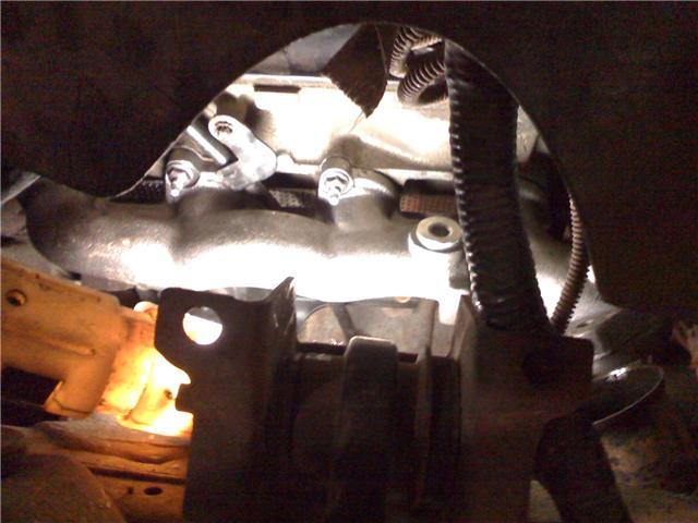 exhaust manifold leak repair done