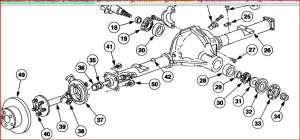 Rear Axle Seals and Bearings  Ford F150 Forum  Community