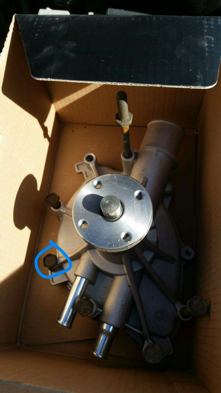95 302 Water Pump Bolt Thread Size Ford F150 Forum