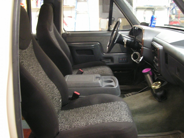 Ford Ranger Seats In A 90 F 150 With Pics