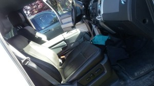Manual on removing power seat switch?  F150online Forums