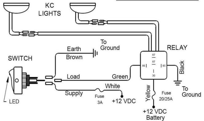 kc light wiring diagram wiring diagrams led hid halogen light wiring solutions harnesses kc hilites