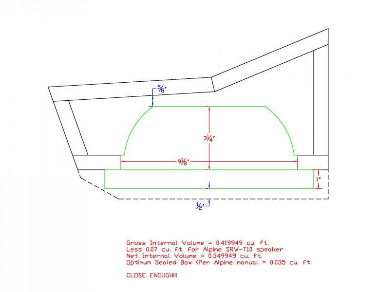 Could Be The Perfect Custom Subwoofer Enclosure For The