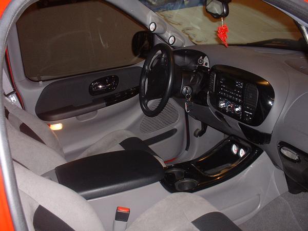 Ford Lightning Interior