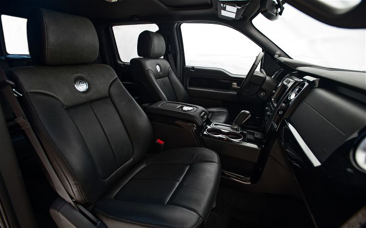 2012-Ford-F-150-SuperCrew-Harley-Davidson-Edition-front-seats ...