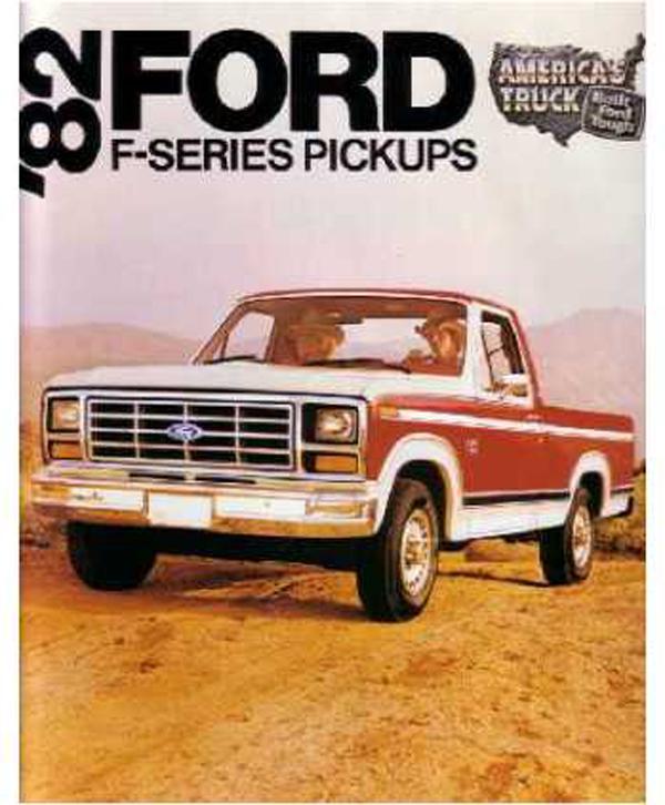1982 Ford F-Series Brochure