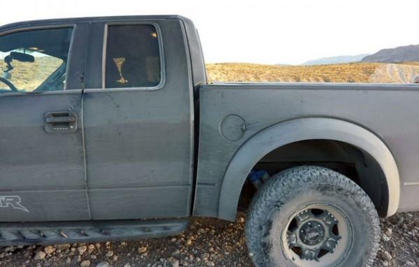 Image: Ford SVT Raptor Bent Frame