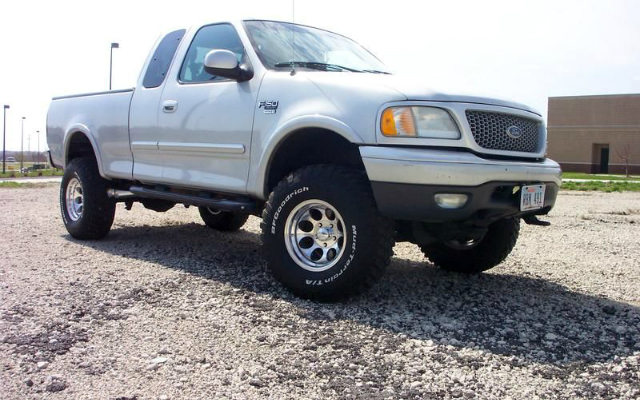 my ride! a 1999 ford f-150 supercab 4x4 sport - f150online
