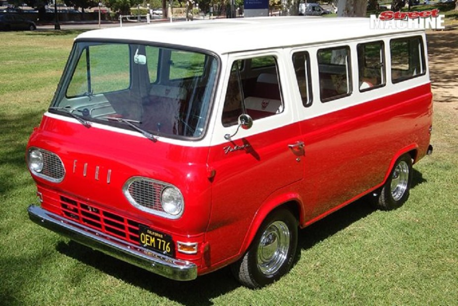 Dave Grohl - Ford van