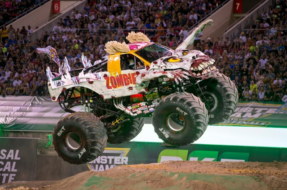 Monster Jam 2018 Tour to Kick Off with Flying Ford Trucks