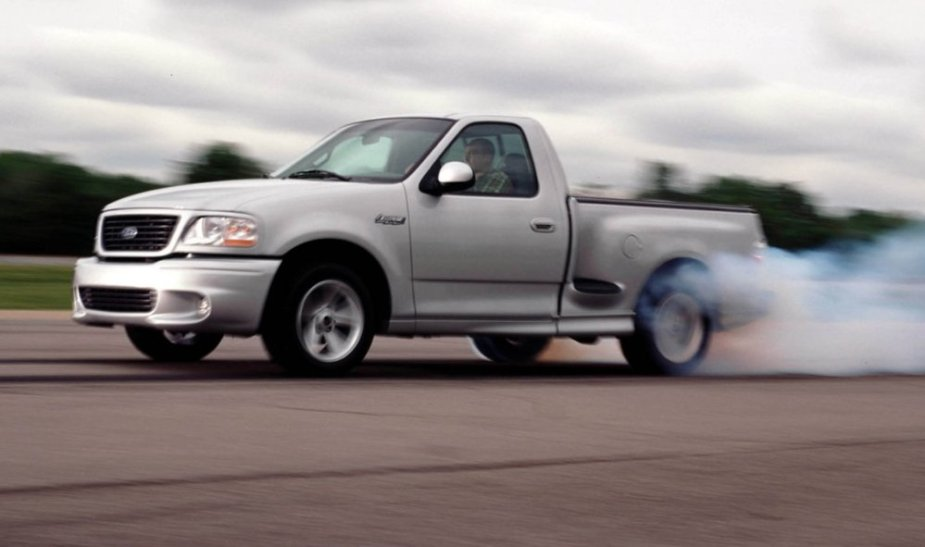 2004 F-150 Lightning Burnout