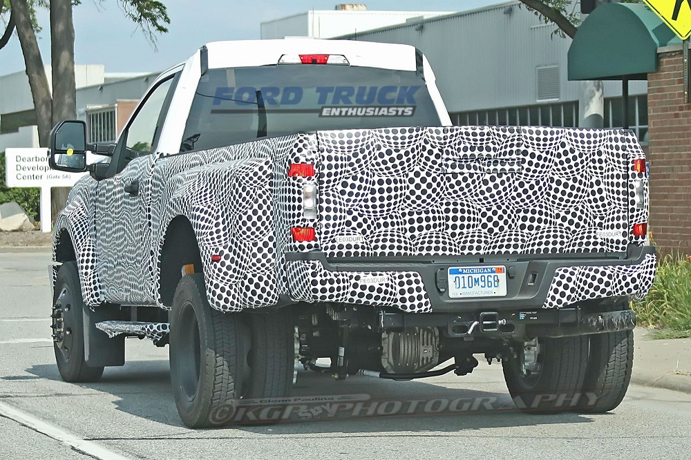 2020 Ford Super Duty Caught Testing In Michigan