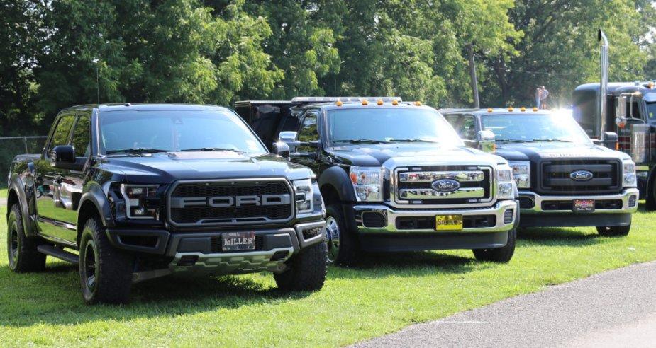 Ford Truck Trio