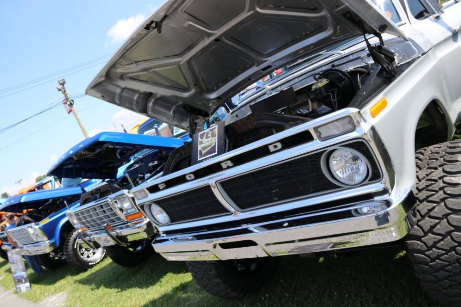 Classic Ford Grille