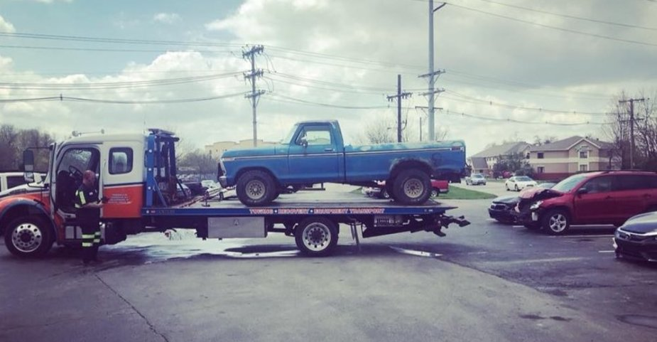 McStoots F-150 Hauled Away