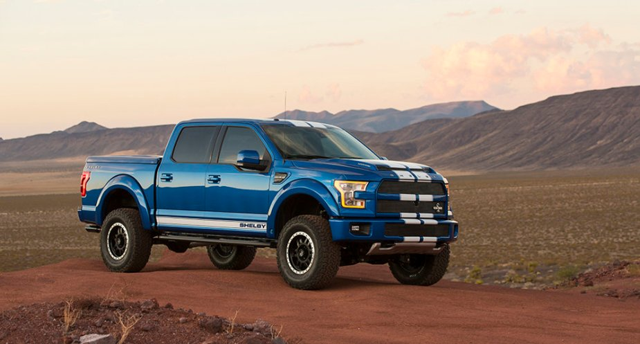 Shelby F-150 Front Corner