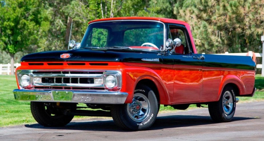 1961 Ford Unibody F-100 Hot Rod Driver's Front Corner
