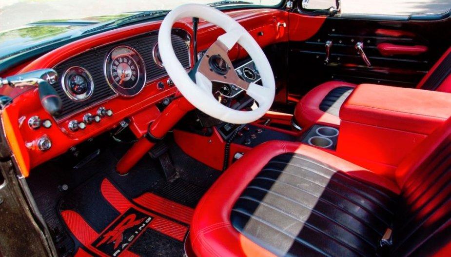 1961 Hot Rod Unibody Ford F-100 Interior