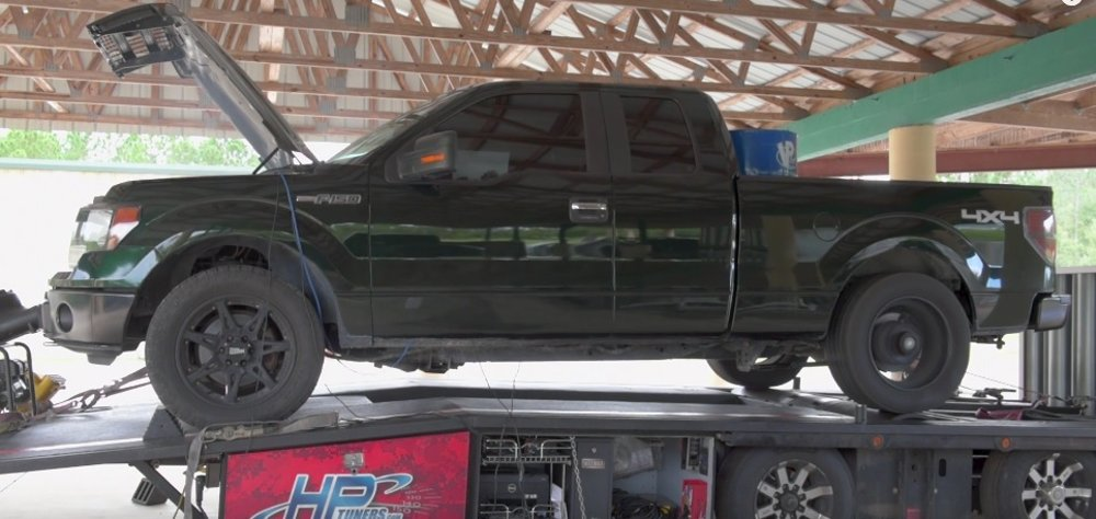 2013 Ford F-150 on the Dyno
