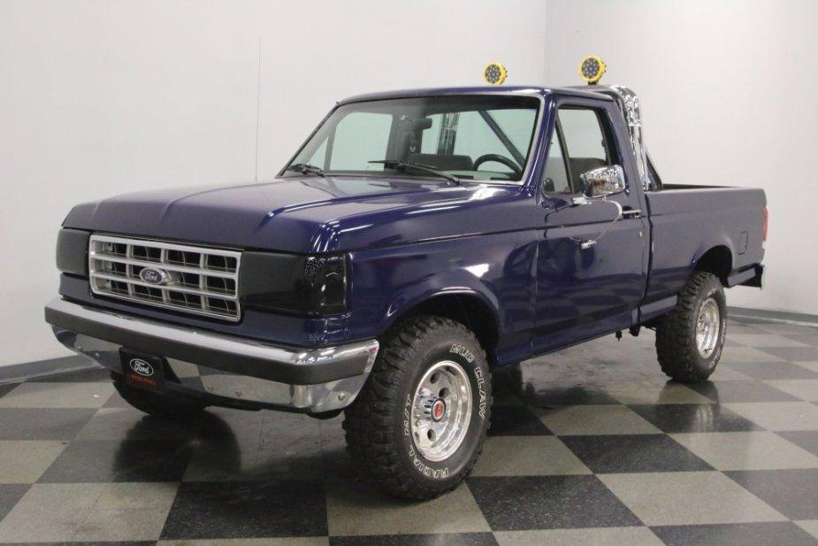 Dark Blue Ford F-150