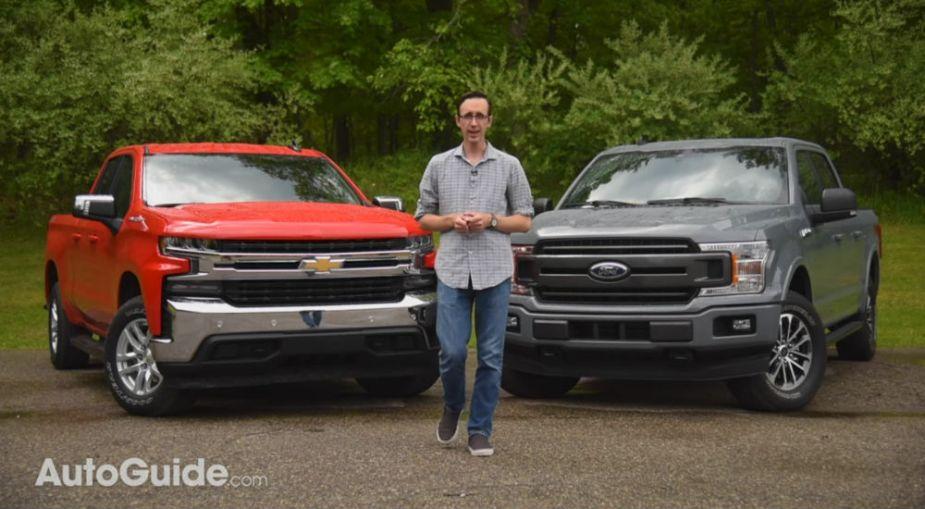 2019 Ford F-150 vs Chevrolet Silverado