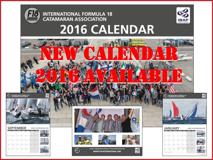 F18 Int Calendar announcement