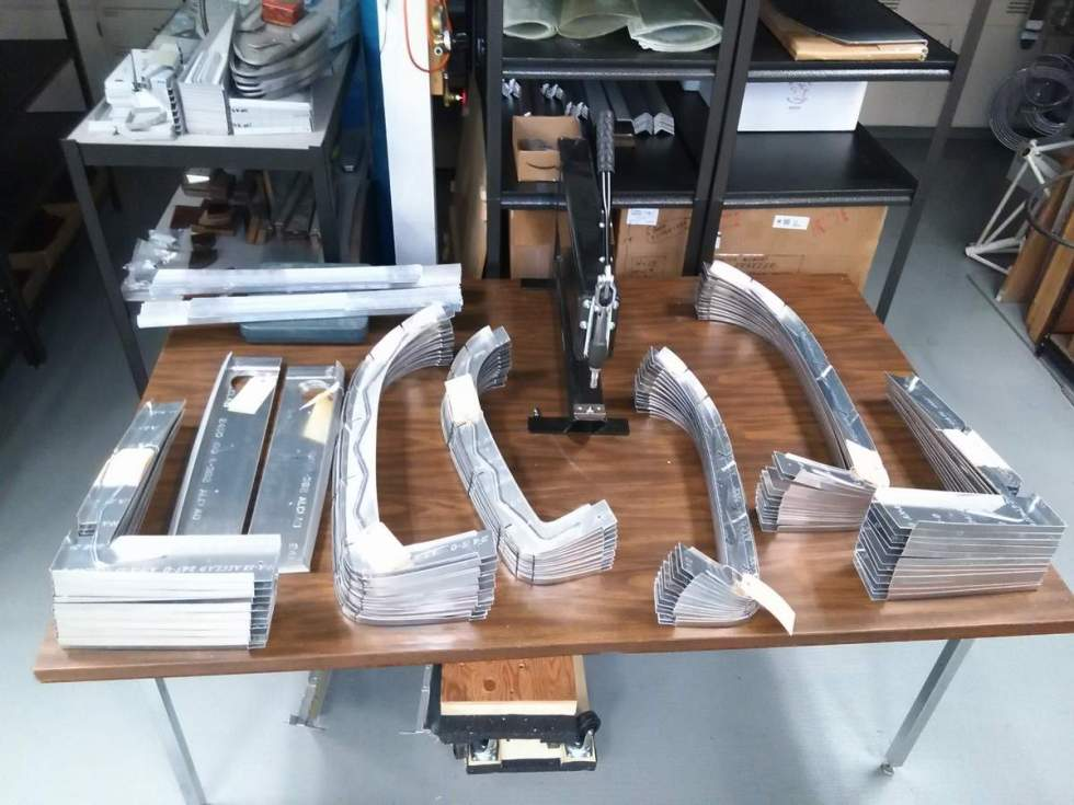 new F1 Rocket bulkheads