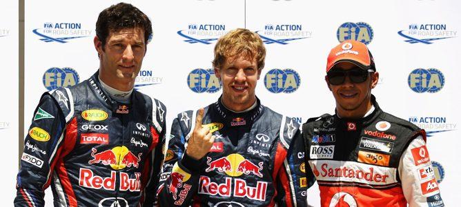 Vettel rodando en la clasificación de Valencia