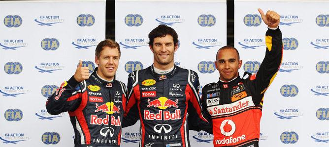 Webber rodando en la clasificación de Nürburgring
