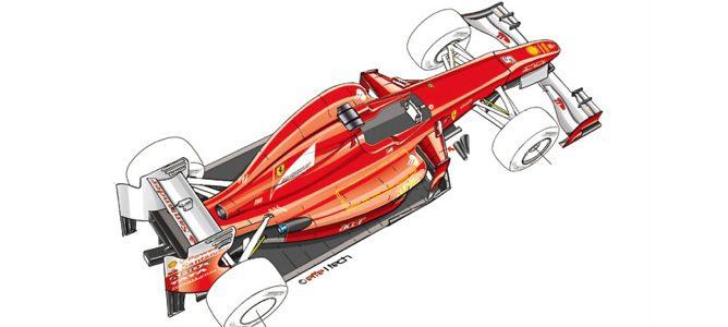 Diseño del Ferrari de 2012