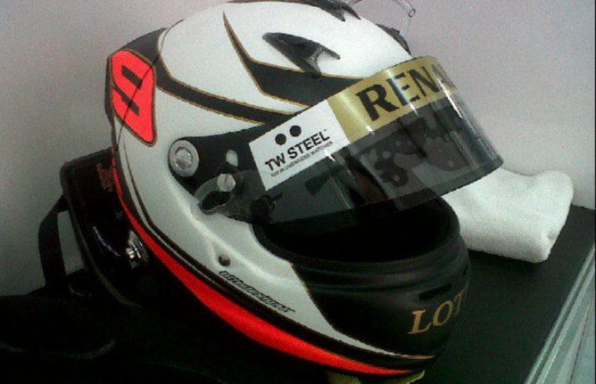 Novedad: su nuevo casco