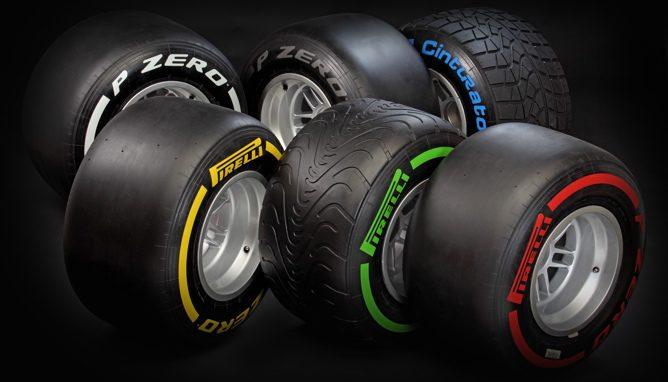 Neumáticos Pirelli de 2012