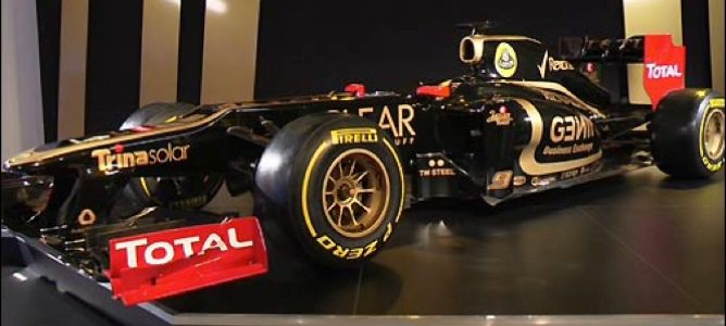 El nuevo monoplaza de Lotus, el E20