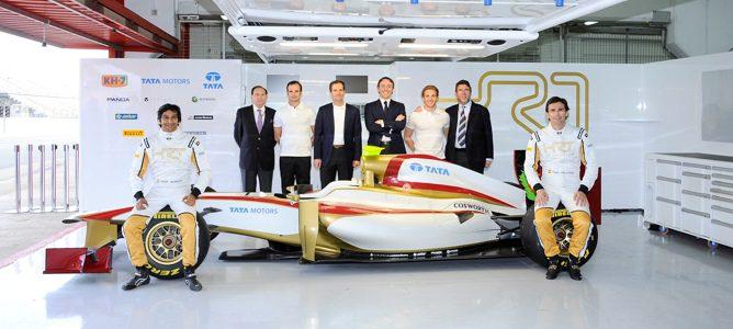 El nuevo monoplaza de HRT, el F112