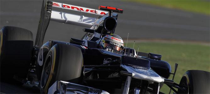 La gran sorpresa de la clasificación, Pastor Maldonado