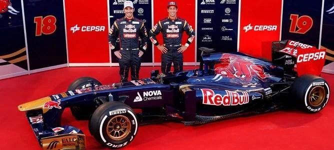Nuevo Toro Rosso STR8, el nuevo monoplaza de Toro Rosso