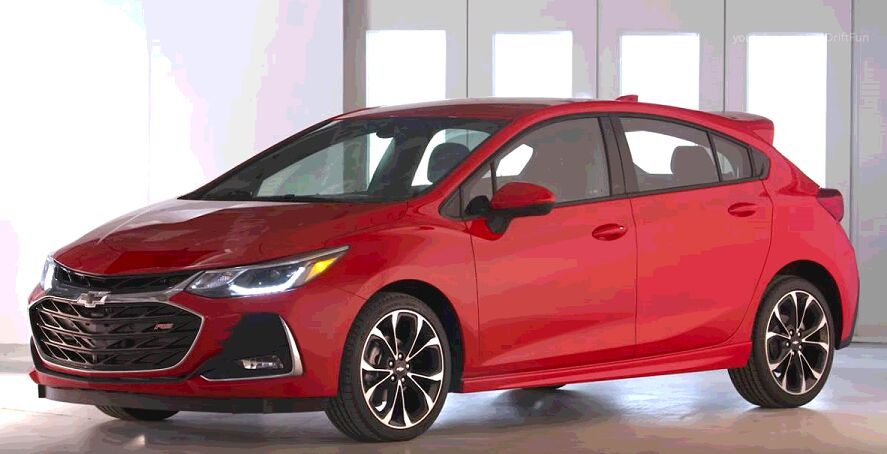 2019 Chevrolet Cruze New Features Review and Test