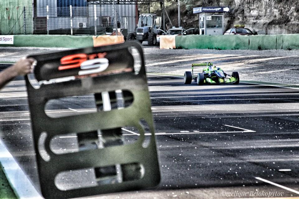 Andrea Cola winning race 1 ©Angelique Belokopytov