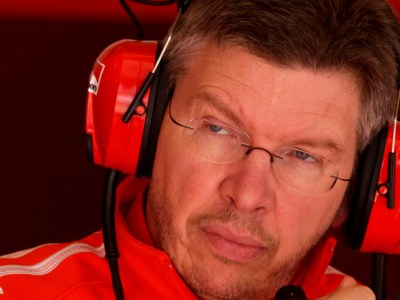 Ross Brawn dompte le cheval cabré
