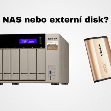 NAS nebo externí disk? Jak ukládat a zálohovat fotografie