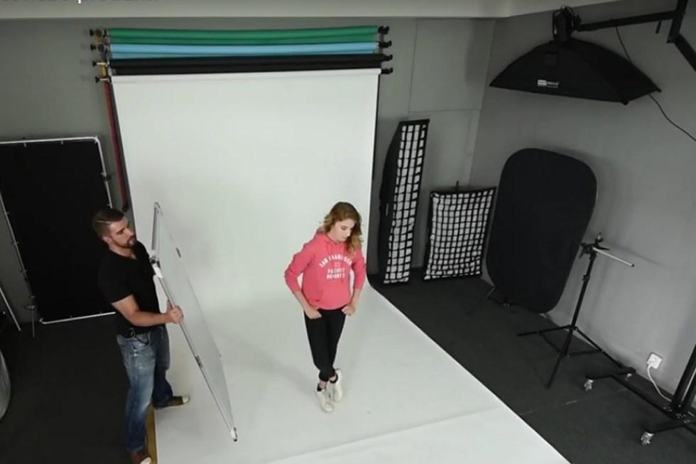 Vybavujeme ateliér s Phototools.cz - svícení portrétu nebo produktu