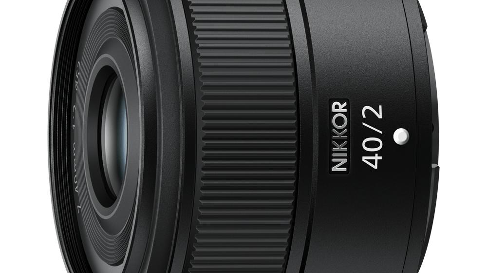 Nikon uvádí NIKKOR Z 40 mm f/2: nejdostupnější pevný plnoformátový Z objektiv
