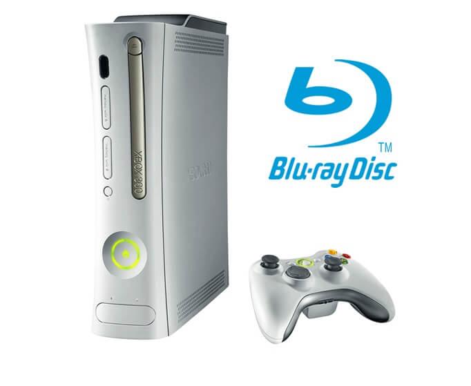 Xbox Blu Ray Player