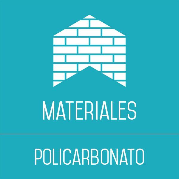 Construir con policarbonato